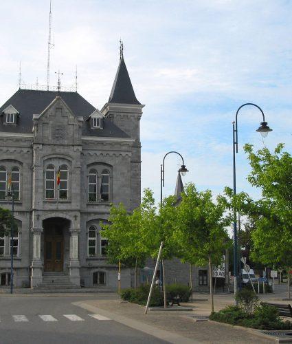 Maison communale de Wellin, commune qui participe au projet de l'Ardoise