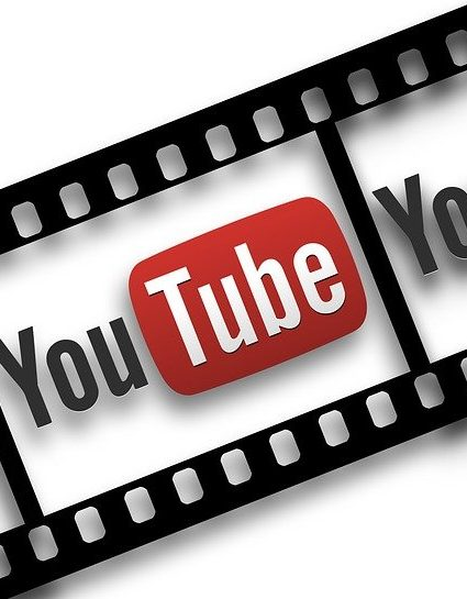 Film video avec logo YouTube